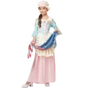 Betsy Ross Colonial Lady