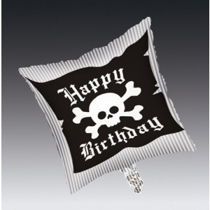 Pirate Parrty! Square Metallic Balloon