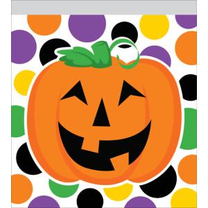 Pumpkins Dots Zipper Bag