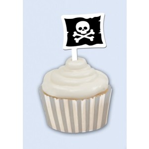 Pirate Parrty! Cupcake Wrapper & Picks
