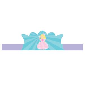 Fairytale princess Adjustable Paper Crowns