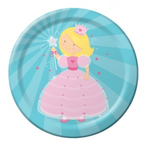 Fairytale princess 9 inch Plate