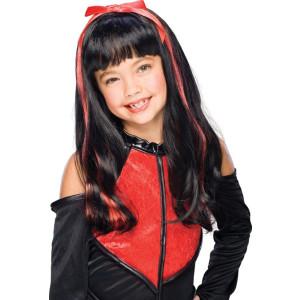 Child Goth Doll Wig