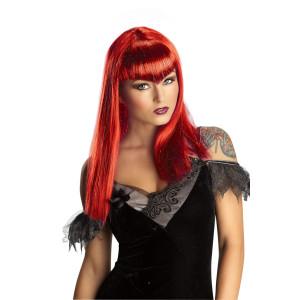 Glitter Vamp Wig - Red