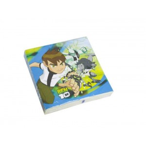 Ben 10 2-Ply Lunch Napkins