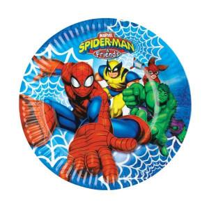 Spiderman & Friends ice cream bowls