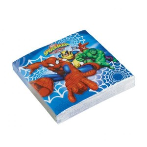 Spiderman & Friends  2-Ply Lunch Napkins