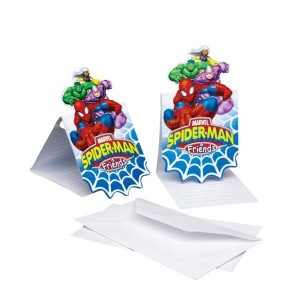 Spiderman & Friends Invitations
