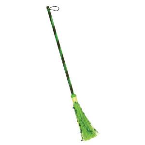 Metallic Witch Brooms-Green