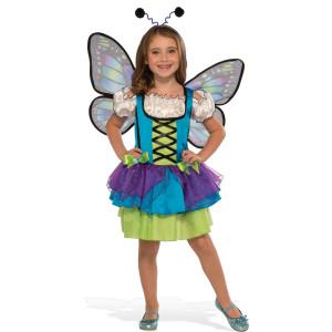Glittery Blue Butterfly