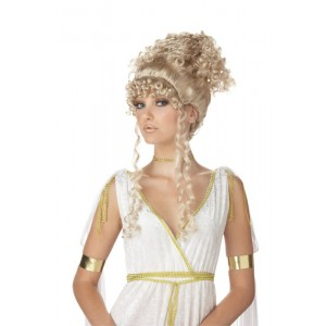 Athenian Goddess Costume Wig