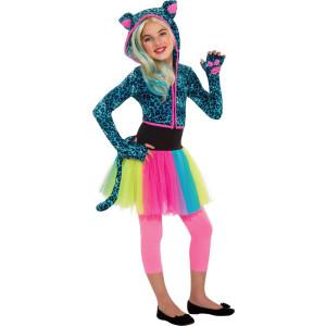 Neon Leopard Hoodie
