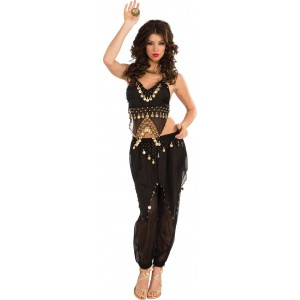 Black Belly Dancer