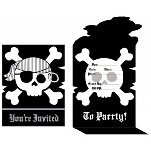 Pirate Parrty! Invitations
