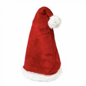 Santa adult fur hat