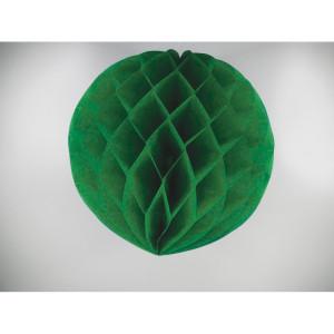 Green honeycomb pompoms