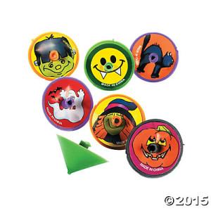 Halloween Spin Tops