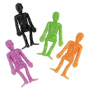 Halloween Stretch Skeletons