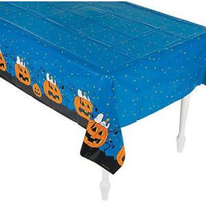Halloween Plastic Tablecloth