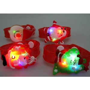 Christmas LED Toy Light Santa watch