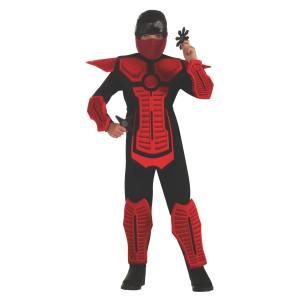 Child Red Ninja