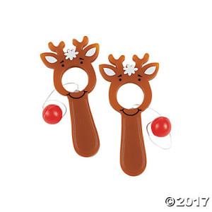 Reindeer Bull's-Eye Games