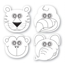 Jungle Theme Paper Masks