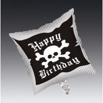 Pirate Parrty! Square Metallic Balloon