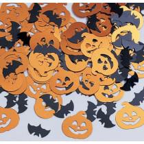 Bats & Pumpkins Shaped Confetti