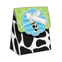 Cow Print Baby Shower Party Favor Bags