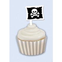 Pirate Parrty! Cupcake Wrapper & Picks