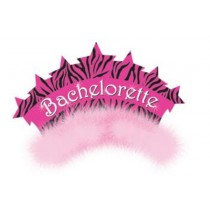 Bachelorette Tiara with Marabou