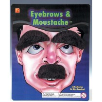 Small Mustache & Eyebrows Set