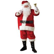 Deluxe Premier Plush Santa Suit