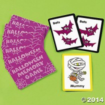 Halloween Memory Card Games