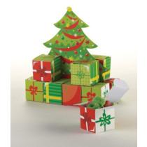 Christmas Tree Favorbox Centerpiece