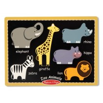 MY FIRST CHUNKY PUZZLE - ZOO ANIMALS