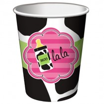 Baby Girl Cow print  9 Oz Hot/Cold Cup
