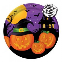 "Pumpkin Haunts 9"" Dinner Plates"