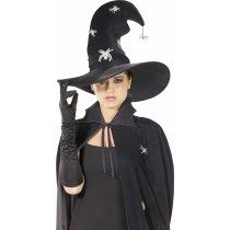 Witch Hat With Glitter Spiders