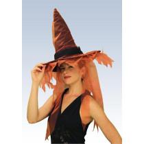 Ghost Witch Hat - Orange