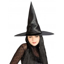 Witch Hat w/Black Hair