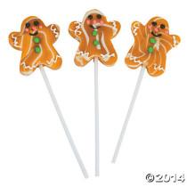 Gingerbread Swirl Pops