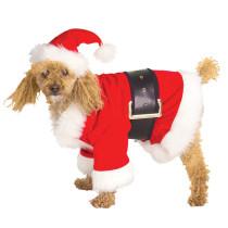 Velour Santa Claus