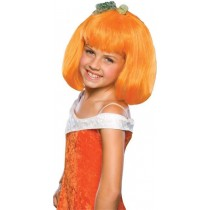 Orange Pumpkin Kids Wig