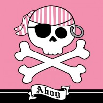 Pirate Parrty! Ahoy 3-Ply Lunch Napkins