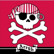 Pirate Parrty! Arrrgh 3-Ply Lunch Napkins