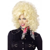 Country Western Diva Costume Wig