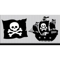 Pirate Parrty! Plastic Tablecover