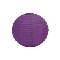 """Purple Hanging Round Paper Lantern 12"""""""